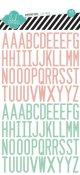 エポキシ・ステッカー (Vintage Chic letters)