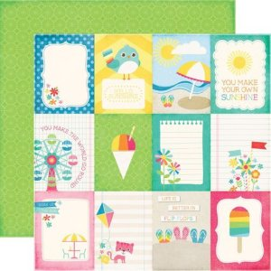 画像1: 両面印刷 I Love Sunshine (3X4 Journaling Cards)
