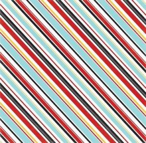 画像2: 両面印刷 Magical Adventure (Silly Stripes)